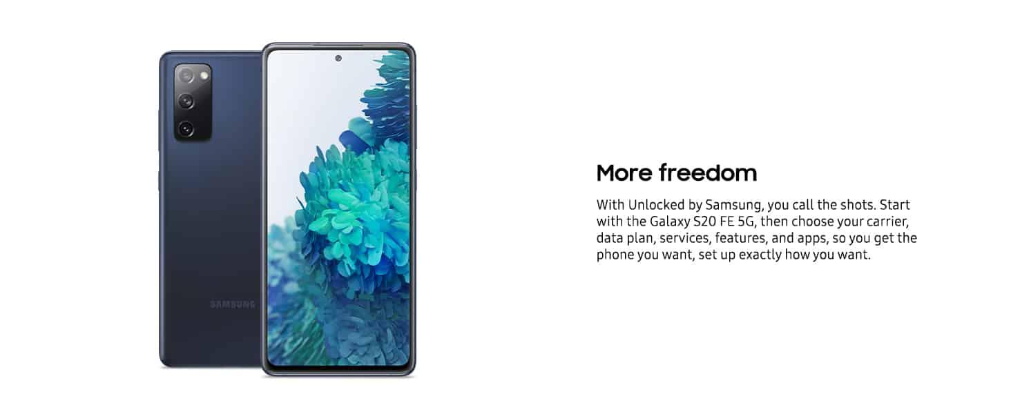 S20 FE 5G Amazon Best Buy Samsung Galaxy Phones 2020